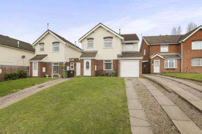 4 Bedrooms Detached House for sale in Laburnum Street, Merridale, Wolverhampton, West Midlands