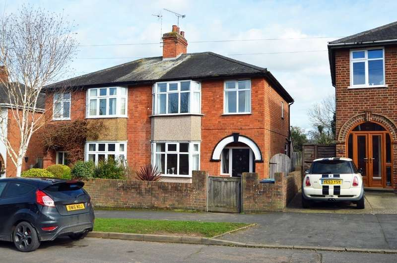 3 Bedrooms Semi Detached House for sale in Shenstone Ave, Hillmorton, Rugby