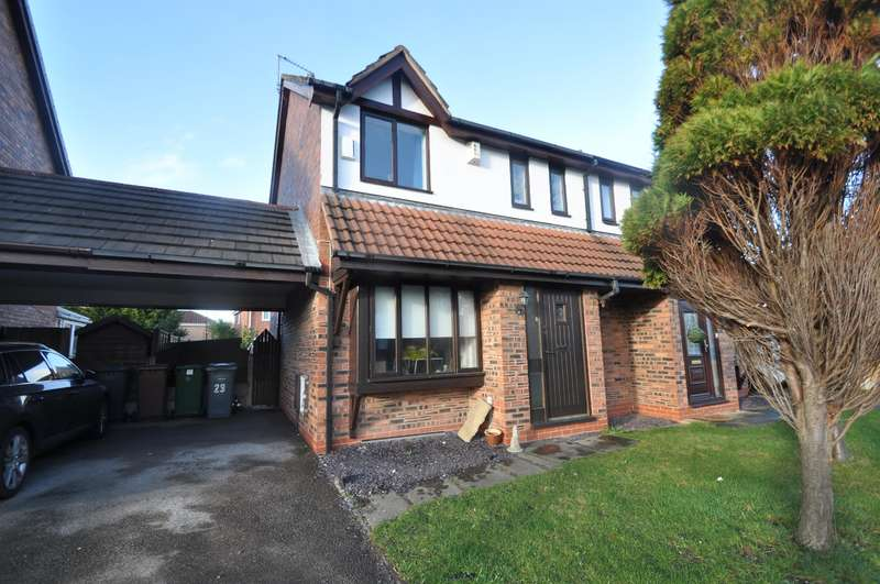 3 Bedrooms Semi Detached House for sale in Mereheath, Wirral, CH46 3SH