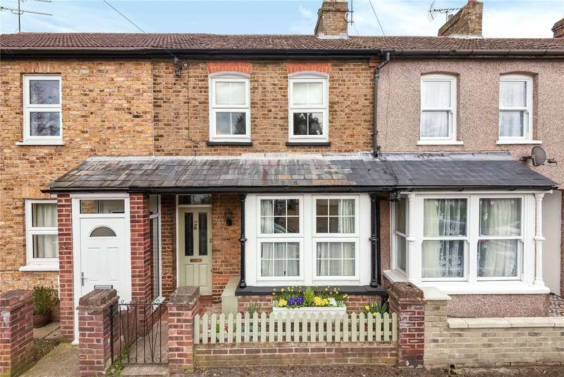3 Bedrooms Terraced House for sale in Newdigate Road, Harefield, Uxbridge, Middlesex, UB9