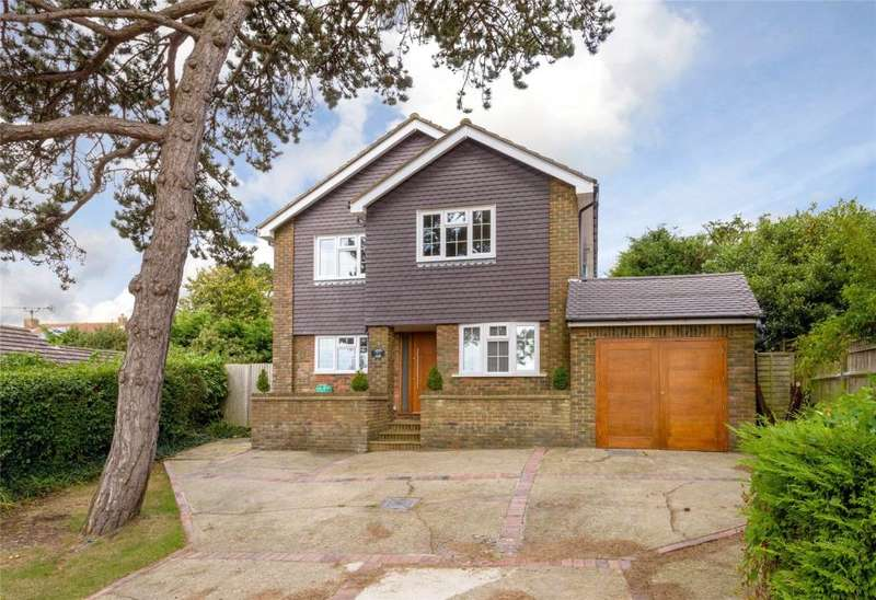 4 Bedrooms Detached House for sale in Firsdown Road, High Salvington, Worthing, West Sussex, BN13