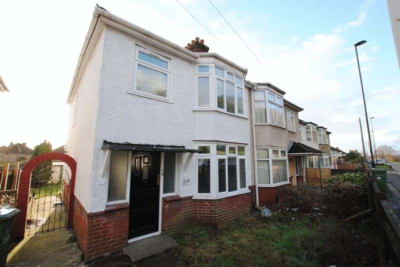 3 Bedrooms Semi Detached House for sale in Bursledon Road, Sholing
