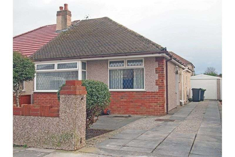 2 Bedrooms Semi Detached Bungalow for sale in Lichfield Avenue, Bare, Morecambe