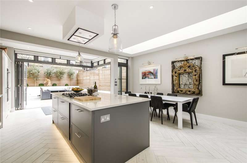 5 Bedrooms Terraced House for sale in Childebert Road, London, SW17
