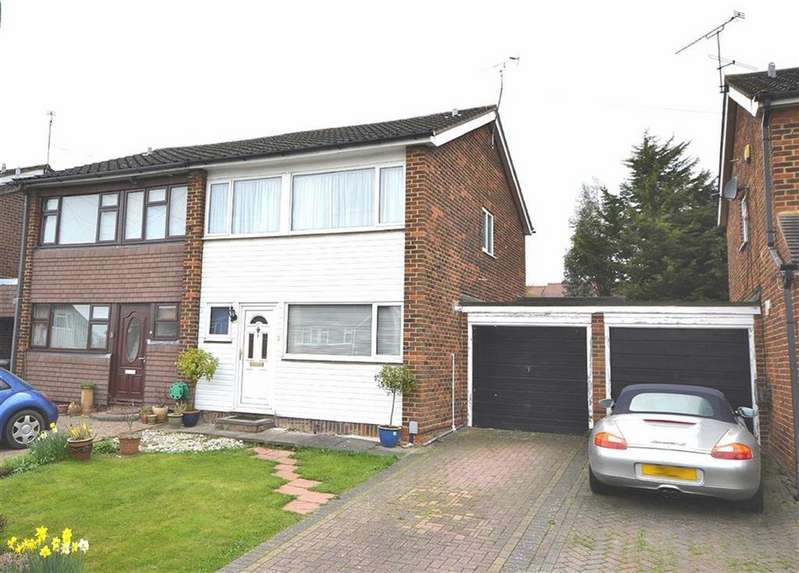 3 Bedrooms Semi Detached House for sale in Warren Field, Epping, Essex, CM16