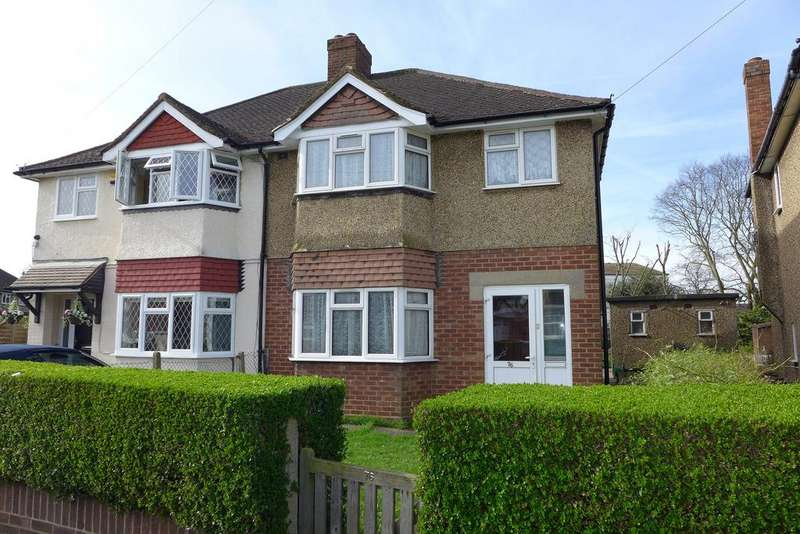 3 Bedrooms Semi Detached House for sale in Grove Crescent, Feltham