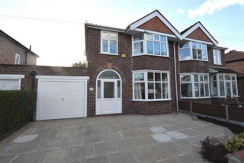 3 Bedrooms Semi Detached House for sale in Salisbury Road, Davyhulme, Manchester
