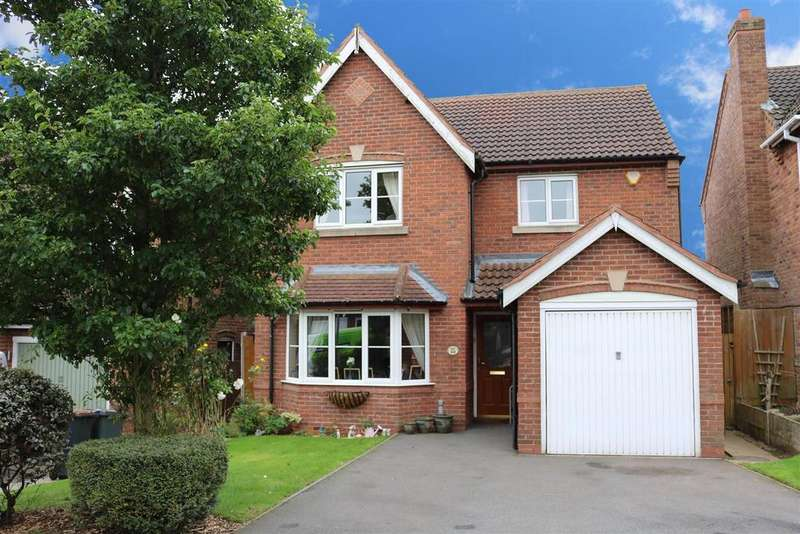 4 Bedrooms Detached House for sale in Rosebank View, Measham, Swadlincote