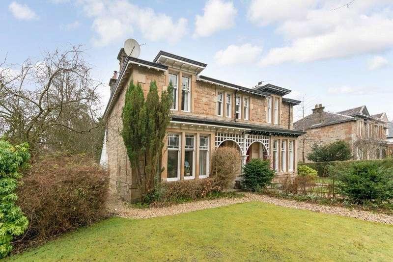 4 Bedrooms Semi Detached House for sale in Jubilee Gardens, Bearsden, Glasgow