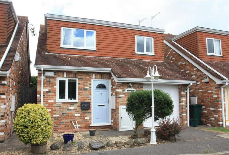 3 Bedrooms Detached House for sale in Worcester Drive, Ashford