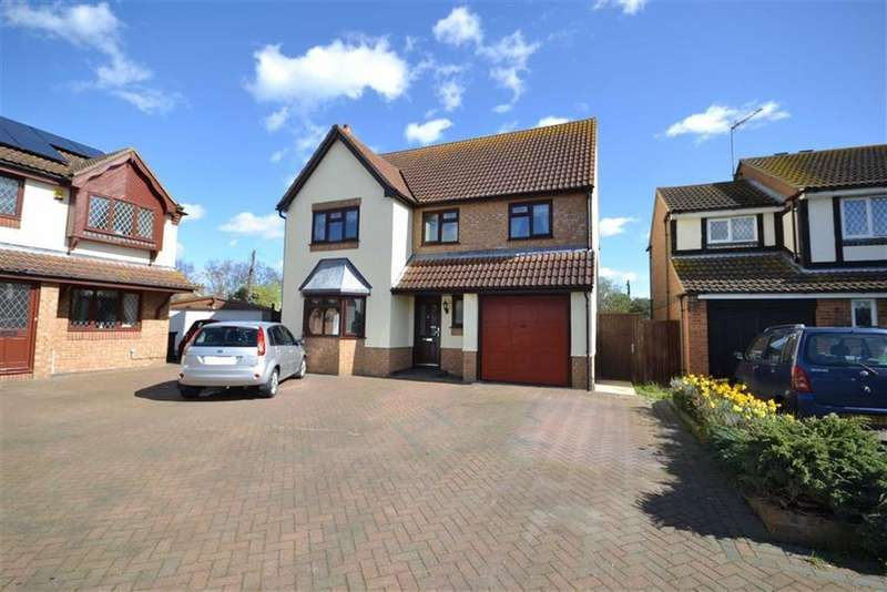 4 Bedrooms Detached House for sale in Wick Farm Road, St Lawrence, Essex
