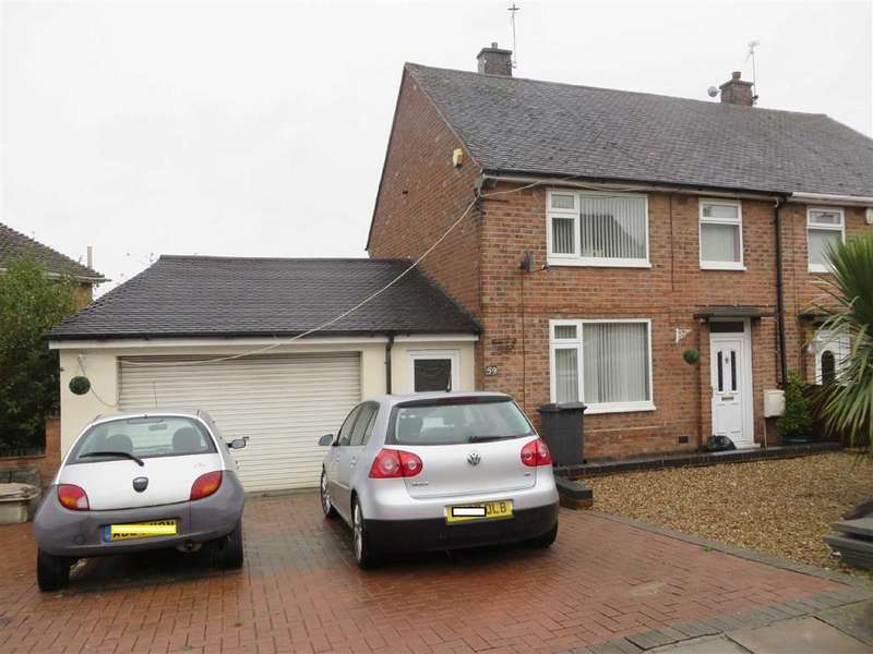 3 Bedrooms Semi Detached House for sale in Perkyn Road, Off Uppingham Road