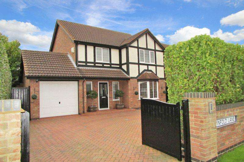 4 Bedrooms Detached House for sale in PINFOLD LANE, HOLTON LE CLAY