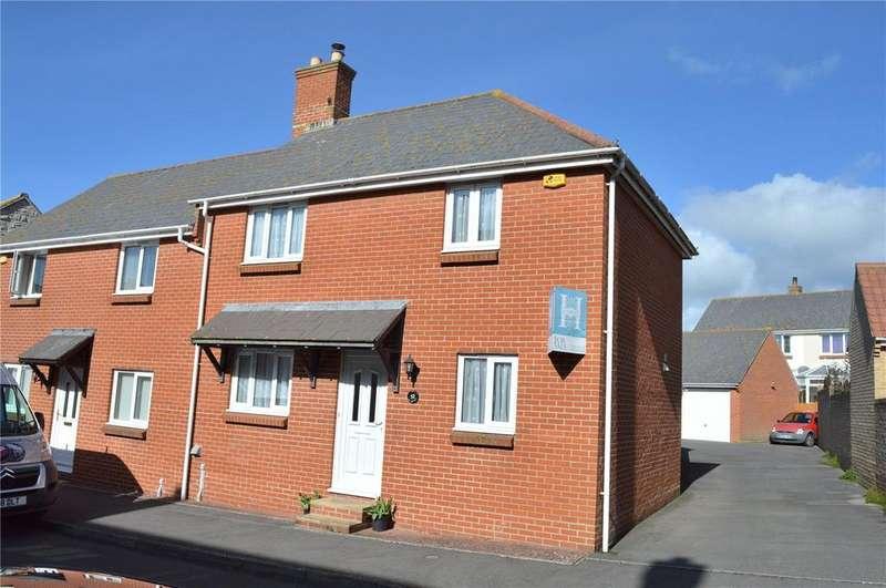 3 Bedrooms Semi Detached House for sale in Foxglove Way, Bridport, Dorset