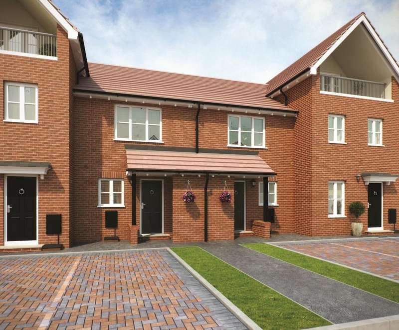 2 Bedrooms Terraced House for sale in PLOT 157 PHASE 1 THE BOWMONT, Navigation Point, Cinder Lane, Castleford, West Yorkshire