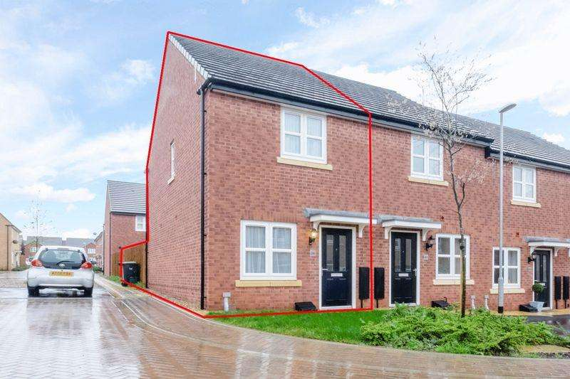 2 Bedrooms Terraced House for sale in Elderberry Crescent, Higham Ferrers