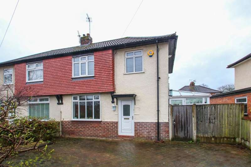3 Bedrooms Semi Detached House for sale in Falmouth Avenue, Flixton, Manchester, M41