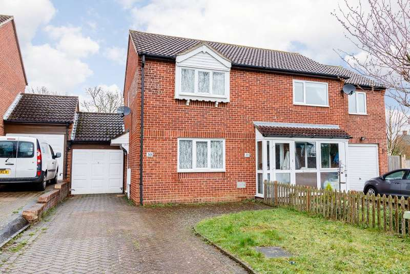 2 Bedrooms Semi Detached House for sale in Vyne Crescent, Milton Keynes, Bucks MK8