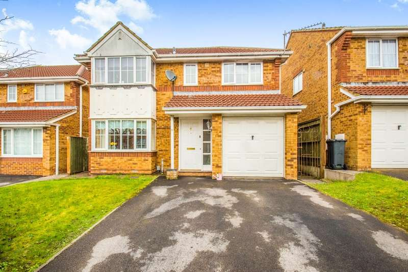 4 Bedrooms Detached House for sale in Wexford Court, Pontprennau, Cardiff