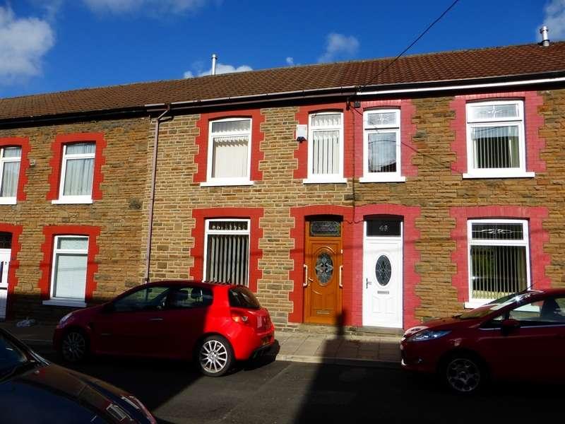 3 Bedrooms Terraced House for sale in Lanelay Terrace, Pontypridd