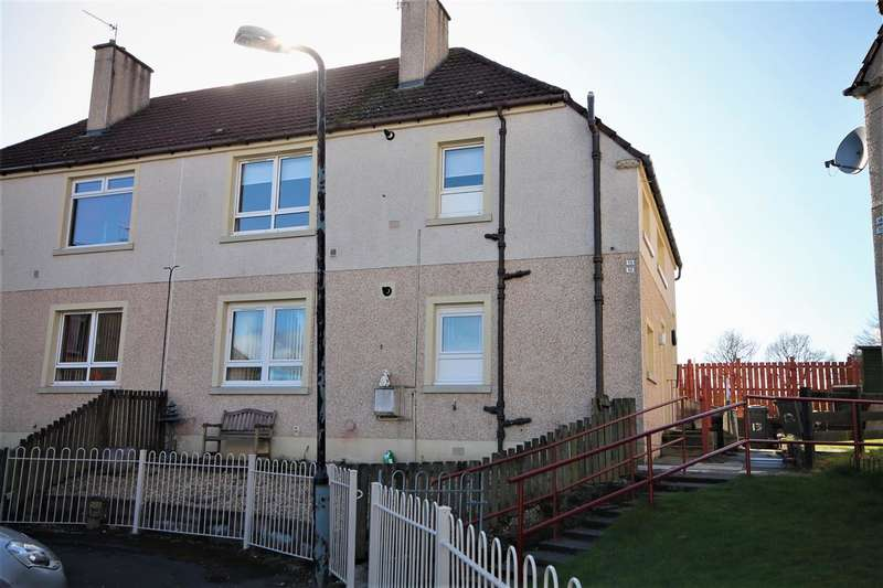 2 Bedrooms Flat for sale in Drumpellier Crescent, Coatbridge