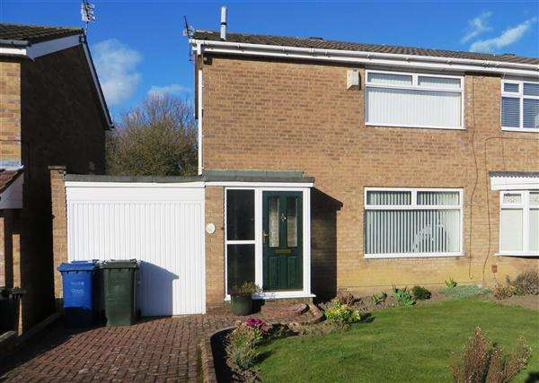 3 Bedrooms Semi Detached House for sale in Glendale Close, Newcastle upon Tyne