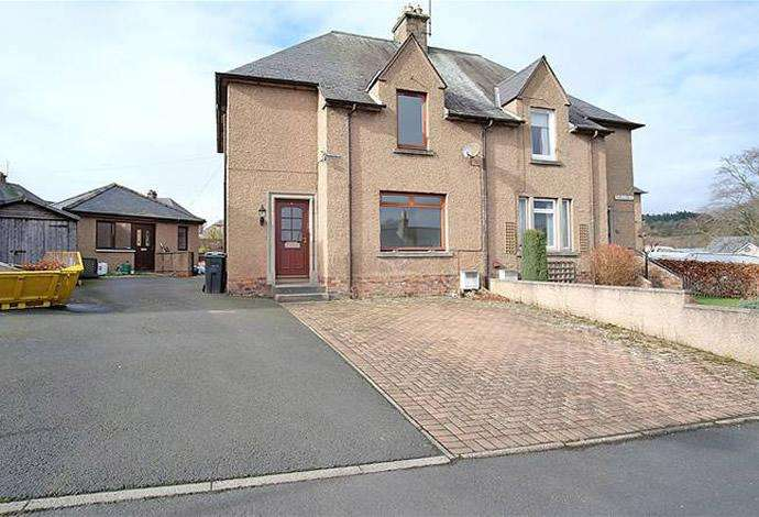 2 Bedrooms Semi Detached House for sale in 19 Park Avenue, Newtown St Boswells, TD6 0QU