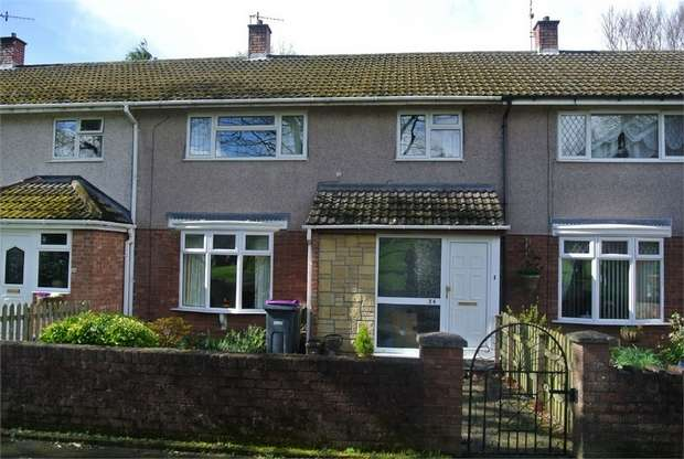 3 Bedrooms Terraced House for sale in Llanyravon Way, Llanyravon, CWMBRAN