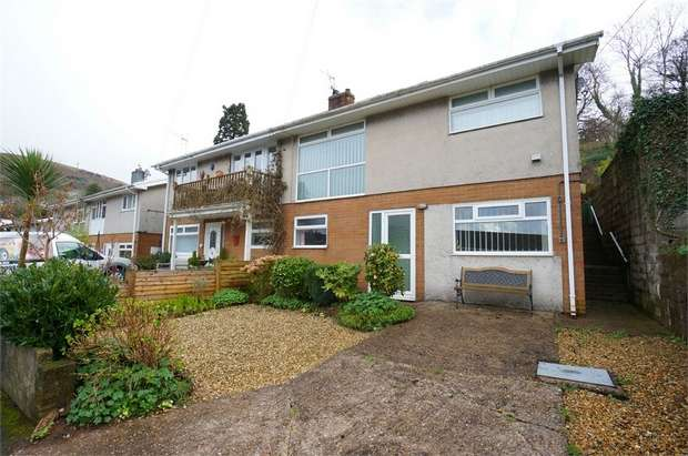 3 Bedrooms Semi Detached House for sale in Highfield Close, Risca, NEWPORT, Caerphilly
