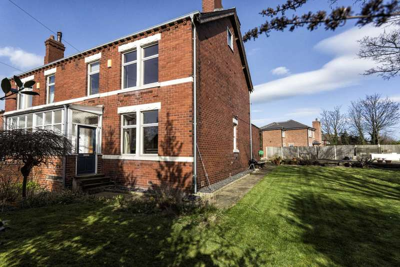 3 Bedrooms Semi Detached House for sale in Westleigh, 43 Wood Lane, Rothwell, Leeds, LS26 0PD