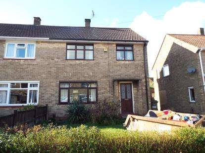 3 Bedrooms Semi Detached House for sale in Abbots Close, Daybrook, Nottingham