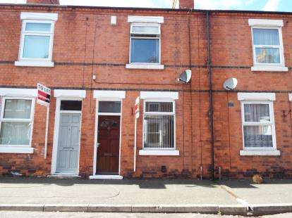 2 Bedrooms Terraced House for sale in Woolmer Road, Meadows, Nottingham, Nottinghamshire