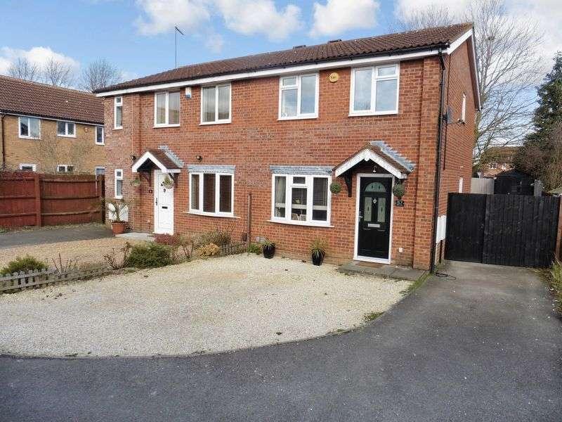 3 Bedrooms Semi Detached House for sale in Milton Way, Dunstable