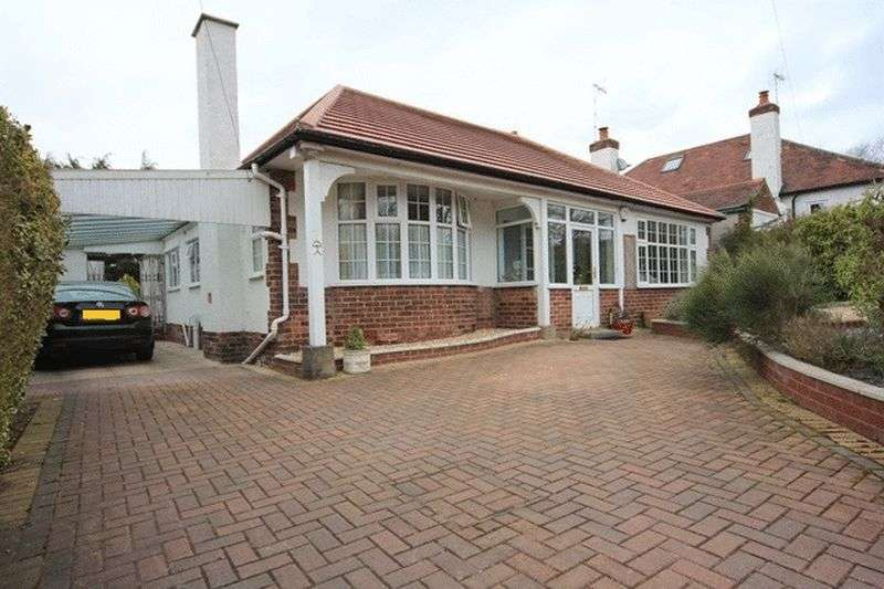 2 Bedrooms Detached Bungalow for sale in Circular Drive, Heswall, Wirral