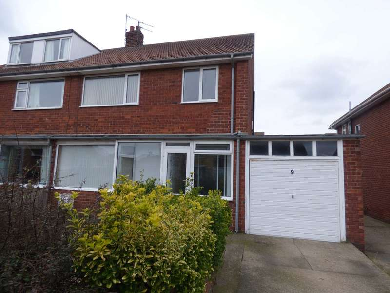 3 Bedrooms Semi Detached House for sale in Warsett Road, Marske By The Sea