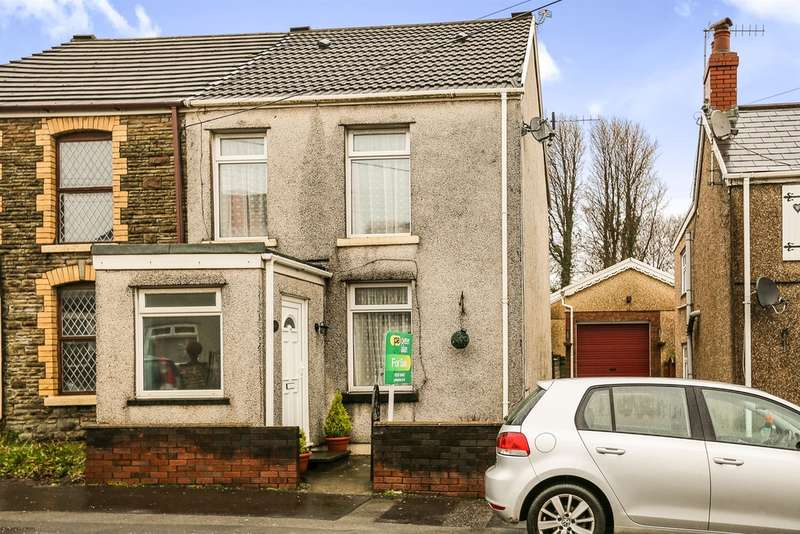 3 Bedrooms End Of Terrace House for sale in Loughor Road, Gorseinon, Swansea