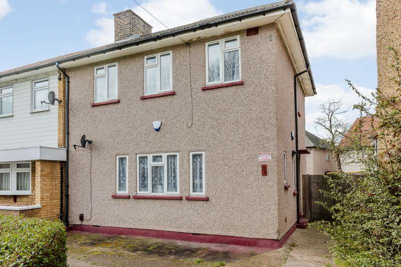 3 Bedrooms Semi Detached House for sale in CHADWAY, DAGENHAM, ESSEX, RM8