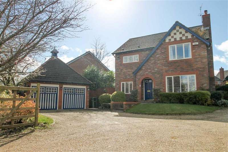 4 Bedrooms Detached House for sale in Capesthorne Close, Kingsmead