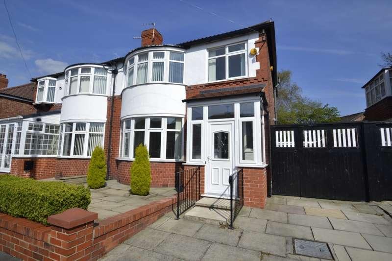 3 Bedrooms Semi Detached House for sale in Bournelea Avenue, Manchester , M19