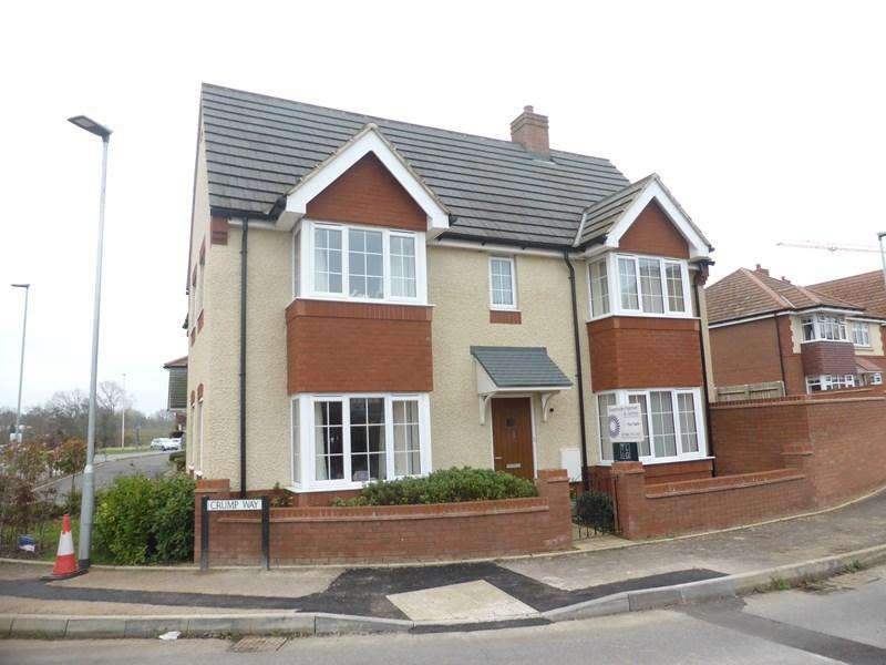 3 Bedrooms Detached House for sale in Crump Way, Evesham