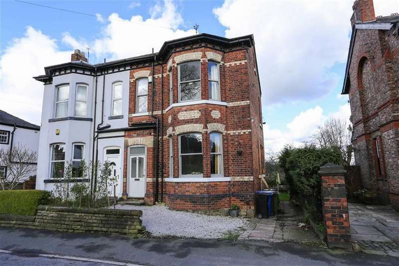 5 Bedrooms Semi Detached House for sale in Station Road, Marple, Cheshire