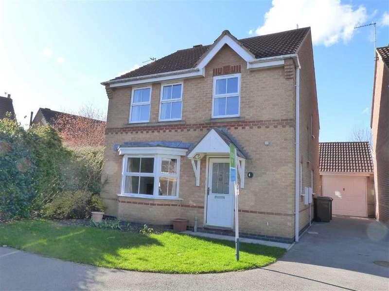 4 Bedrooms Detached House for sale in McGrath Close, Pocklington