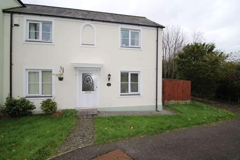 3 Bedrooms Semi Detached House for sale in Dukes Court, Roche, St. Austell, PL26