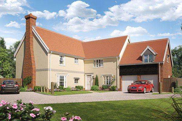 5 Bedrooms Detached House for sale in Wherry Gardens, Salhouse Road, Norwich