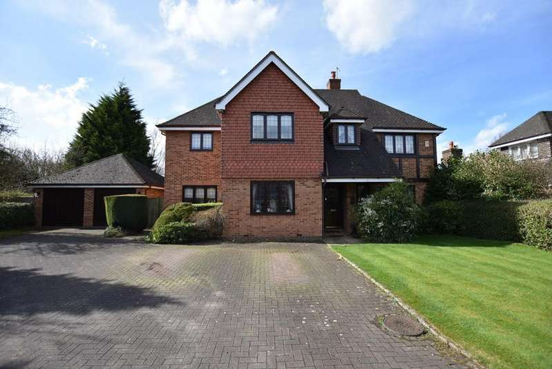 5 Bedrooms Detached House for sale in Wolsey Drive, Bowdon