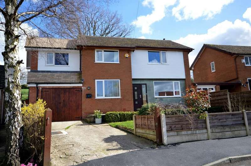 4 Bedrooms Detached House for sale in Bankside Close, Marple Bridge