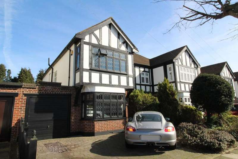 4 Bedrooms Semi Detached House for sale in Roxburgh Avenue, Upminster, Essex, RM14