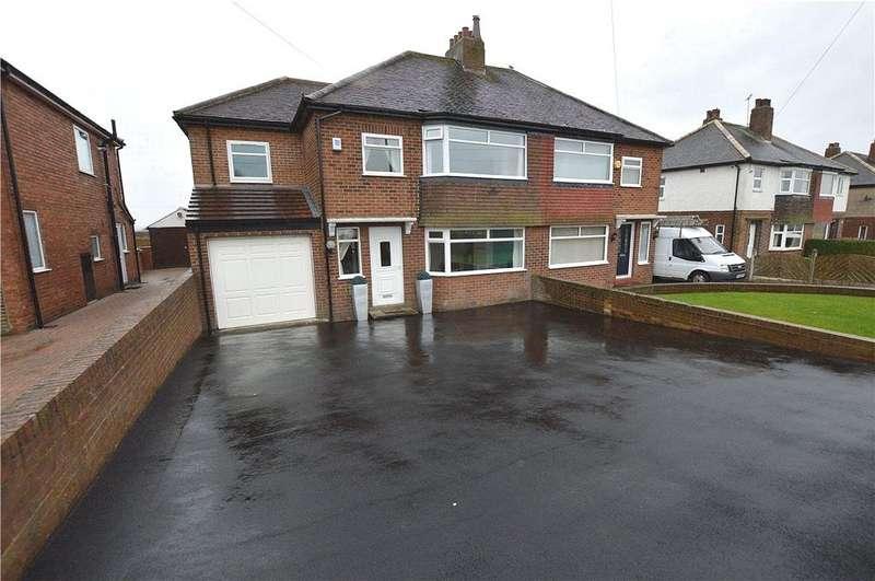 4 Bedrooms Semi Detached House for sale in Leeds Road, Scholes, Leeds