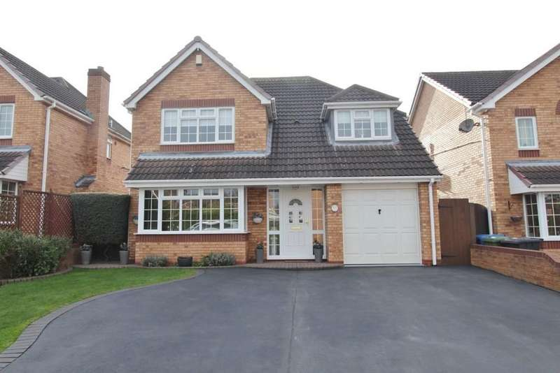 4 Bedrooms Detached House for sale in Emberton Way, Amington Fields