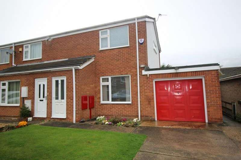 2 Bedrooms Semi Detached House for sale in 26 Grange Avenue, Woodsetts